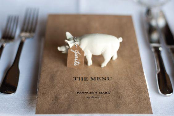 ejemplos de menu para bodas