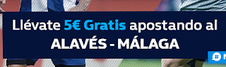 william hill promocion Alaves vs Malaga 21 diciembre