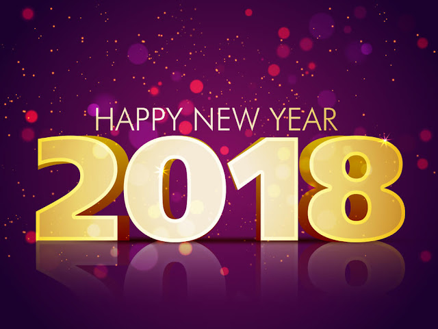 happy new year 2018 hd wallpaper for android