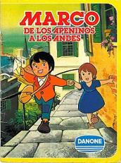 Marco De los Apeninos a los Andes Serie Completa Latino