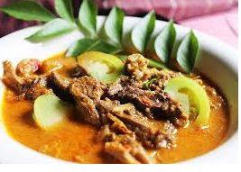 Resep dan cara membuat Gulai Daging Sapi Mak Nyos
