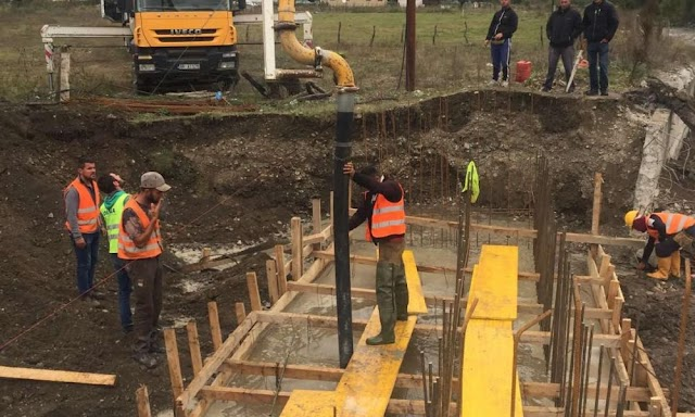 Nastavljena izgradnja mosta na rijeci Vruji u Gusinju