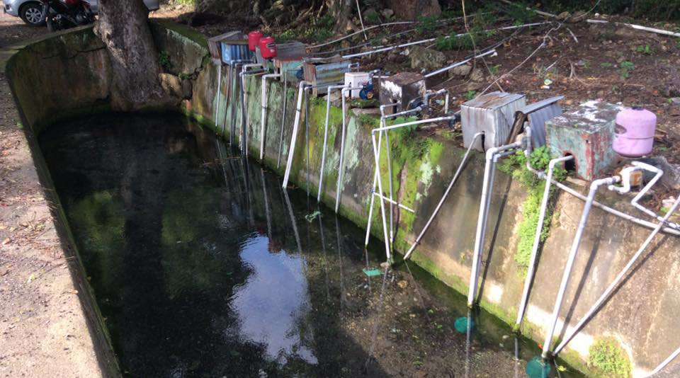 Sumber Air Minum dan air bersih Penduduk Sekitar