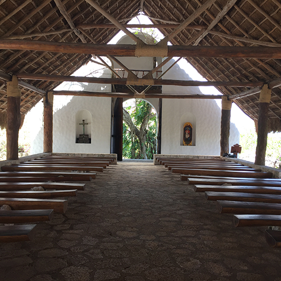 xcaret st francis of assisi chapel