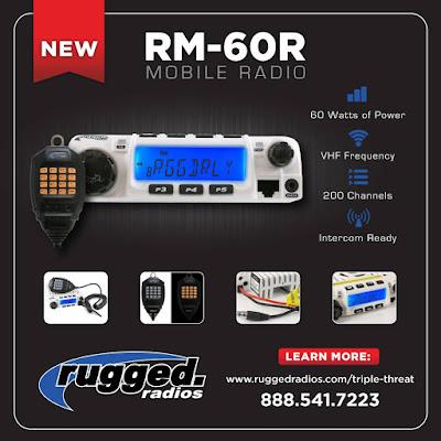 RM-60 VHF 60-Watt Mobile Radio