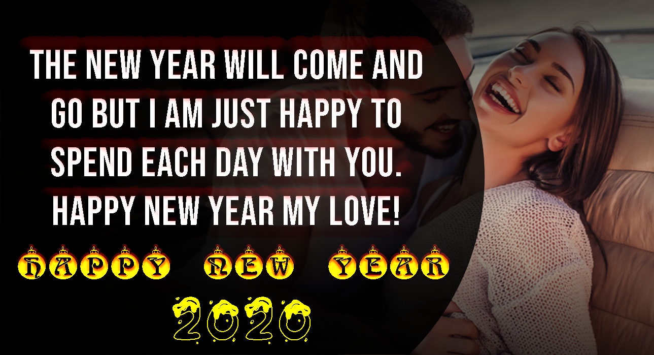 Happy New Year 2020 Wishes, Quotes, Messages for Girlfriend - POETRY CLUB