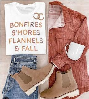 تريند الخريف، صور ملابس خريفي