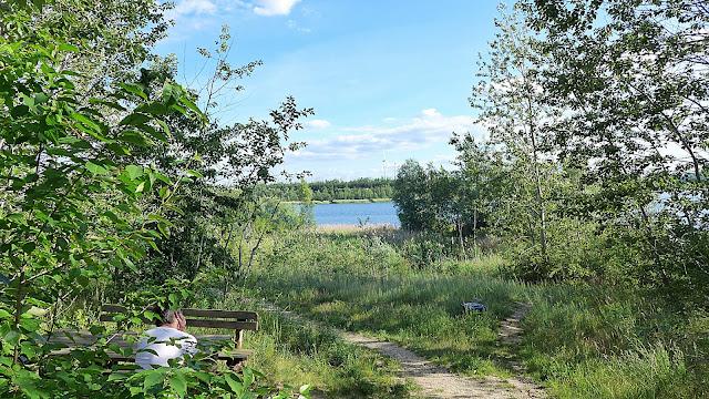 Ausruhen am See und die Natur genießen