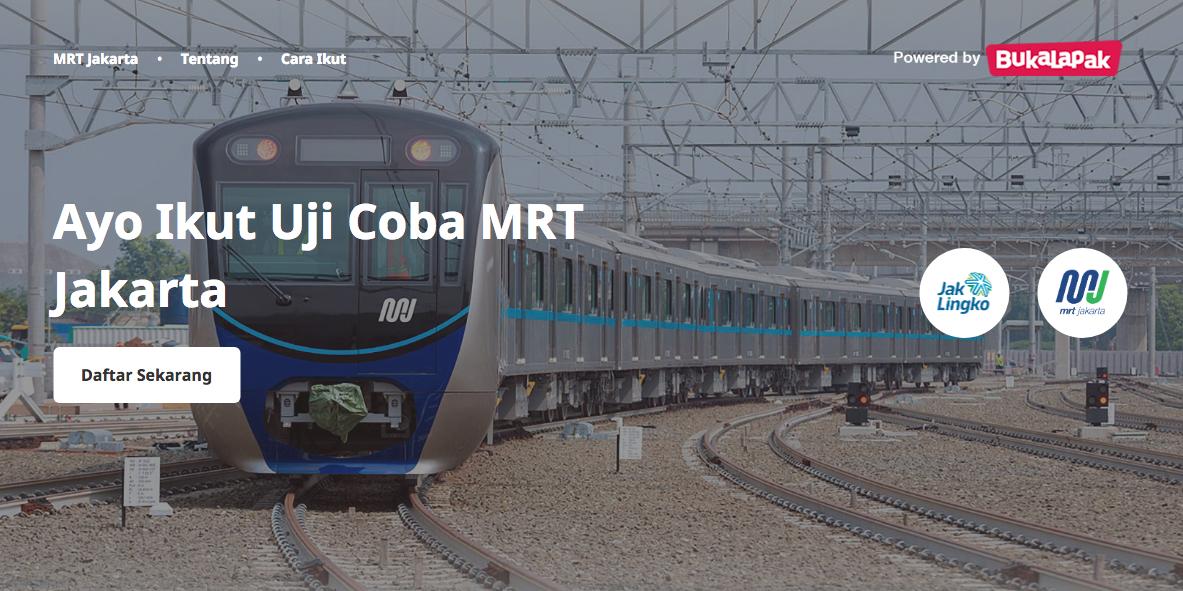 Daftar Dulu Baru Naik Kereta Mrt Jakarta