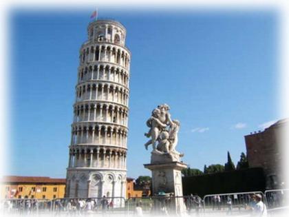 Những ngày ở Châu Âu-Tháp Pisa