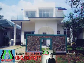 Rp.3.8 Milyar Dijual Cepat Rumah Siap Huni + POOL Di Cluster BGH Sentul City  (code:201)