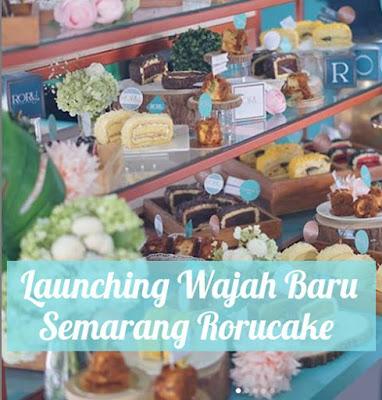 Memperkenalkan Wajah Baru Semarang Roru Cake, Favorit Baru Roru Gulung Abon