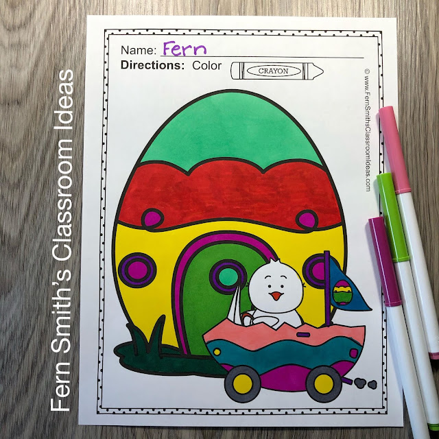 Easter Coloring Pages - 33 Pages of Easter Coloring Fun! #FernSmithsClassroomIdeas