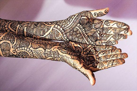 Bridal Mehndi Design Book : Arabic bridal mehndi designs for wedding images