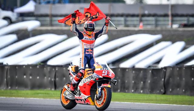 Marc Marquez Seals the 2019 Moto GP World Champion Title