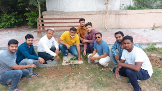 युवा द्वारा 'मेरा रविवार सार्थक रविवार' अभियान के तहत पौधरोपण किया