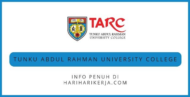 Permohonan Jawatan Tunku Abdul Rahman University College