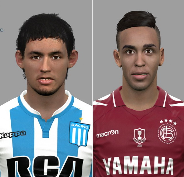 PES 2017 Marcelo Meli & Jose luis Gómez face by DanielValencia