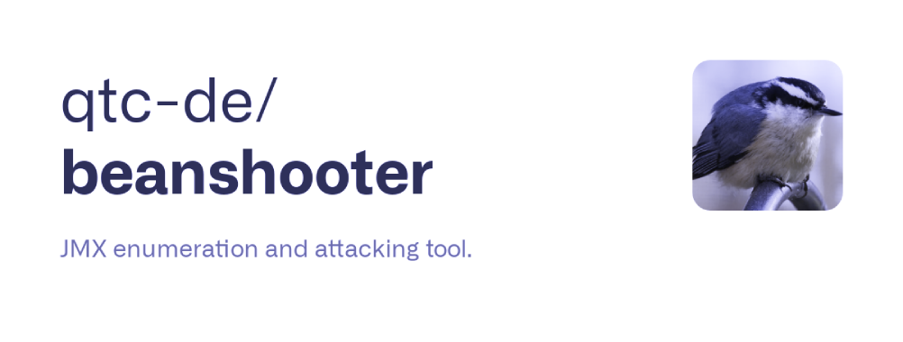 Beanshooter : JMX Enumeration And Attacking Tool