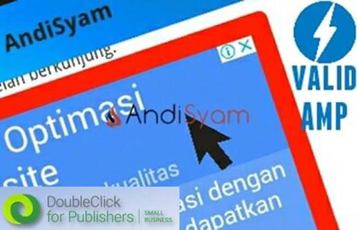 Cara Pasang Iklan DFP di Blog Valid Template AMP