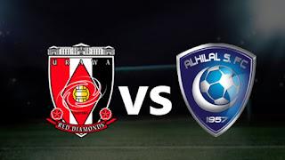موعد مباراة الهلال واوراوا ريد دياموندز اليوم 9-11-2019 ضمن دوري أبطال آسيا