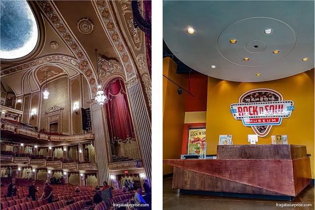 Atrações de Memphis: Orpheum Theater e Rock'n'Soul Museum
