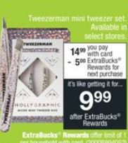 Tweezerman mini tweezer set-sale