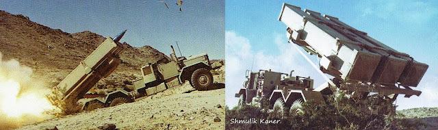 قاذف Keres المسلح بـ 3 صواريخ AGM-78 Standard المضادة للرادارات