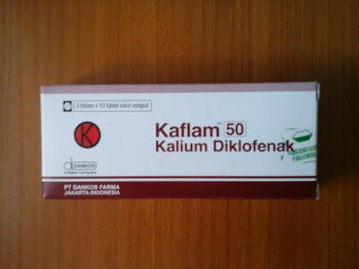 Kaflam | Kalium Diklofenak.