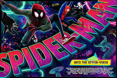 San Diego Comic-Con 2020 Exclusive Spider-Man: Into the Spider-Verse Screen Print by Mike Saputo x Mondo