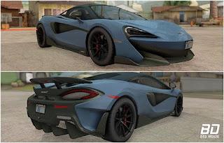 Download mod carro Mclaren 600LT 2019 para GTA San Andreas