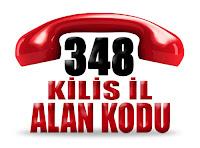 0348 Kilis telefon alan kodu