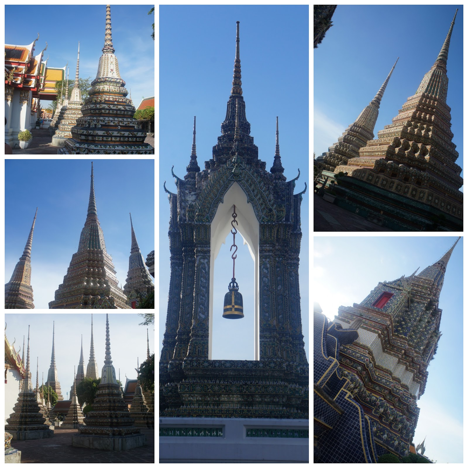 The Stunning Stupas at Wat Pho Temple Complex Thailand Travel Guide