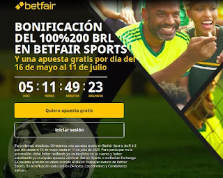 betfair 5 apuesta gratis hasta 11-7-21