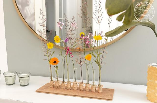 Dekorative Ikebana-Vase selbermachen
