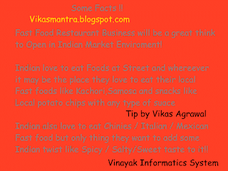 Indian fast food ideas