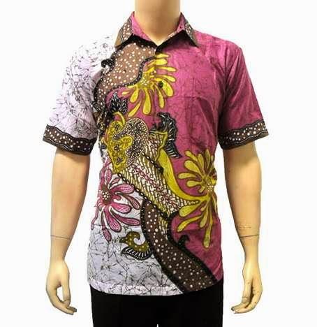 Model baju batik modern untuk pria