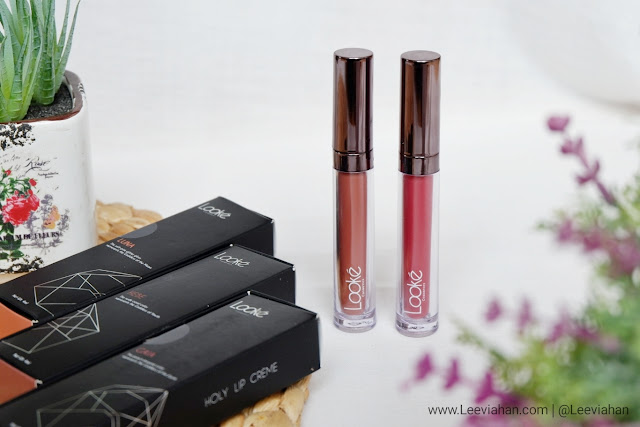 Looke Cosmetics, BRAND : Looke Cosmetics, Review, Beauty Review, Lipstick Looke, Lip Cream. Lip Cream Lokal, Lip Cream Looke