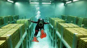 "Money Heist Season 2 Episode 3: ""48 metros bajo el suelo"" or ""48 Meters Underground."""