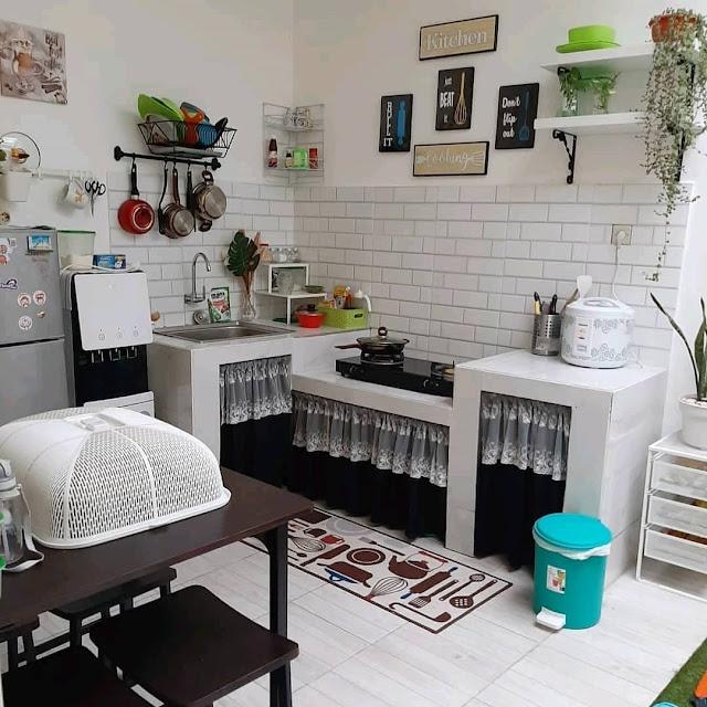 Dekorasi Dapur Sederhana Minimalis Terbaru