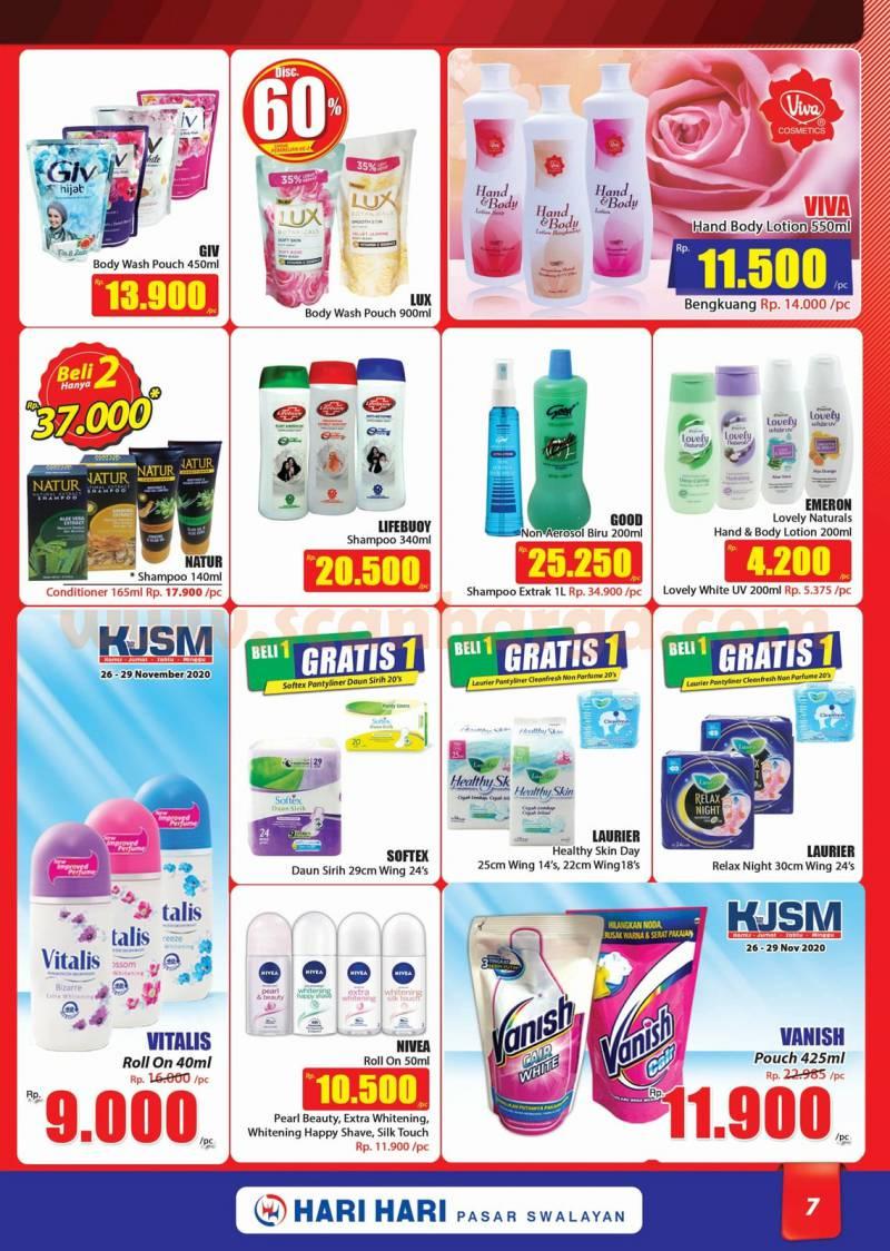 Katalog Promo Hari Hari Pasar Swalayan 26 November - 9 Desember 2020 7