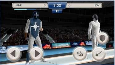 Game Olahraga Anggar Android