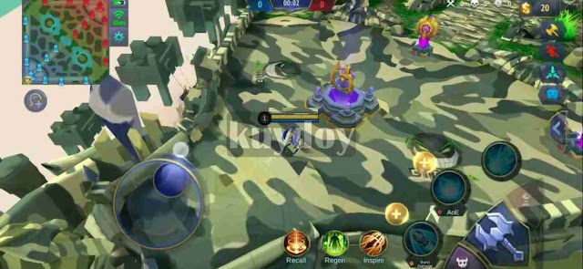 Script Map Tema Militer Mobile Legends Patch Terbaru