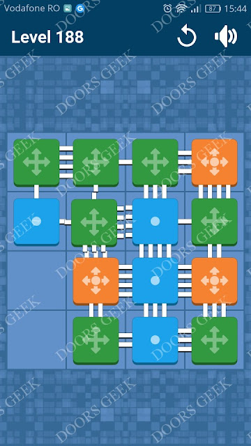 Connect Me - Logic Puzzle Level 188 Solution, Cheats, Walkthrough for android, iphone, ipad and ipod