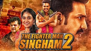 Download The Fighter Man Singham 2 (2019) Hindi Dubbed 720p HDRip
