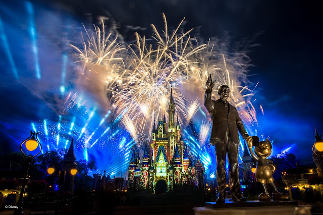 #DisneyMagicMoments, Partners, Walt Disney, Mickey Mouse, Magic Kingdom, Walt Disney World Resort 分享「Happily Ever After」煙花表演 Full Show 片段