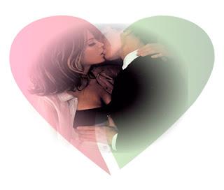 Montagem com coração com photoshop online grátis