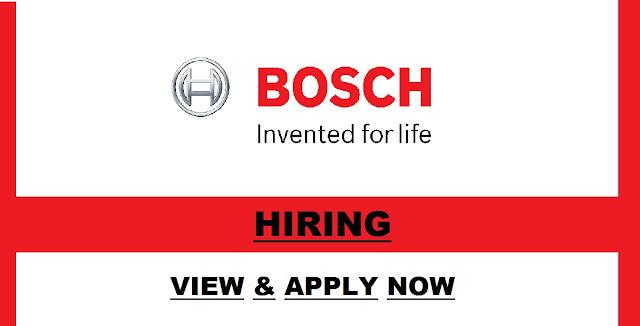 Bosch Jobs Uk - Bosch Uk Jobs