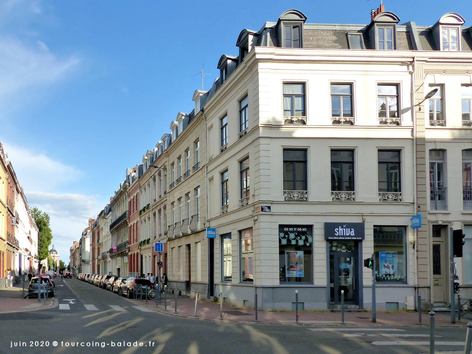 Rue Jacquemars Giélée, Lille 2019