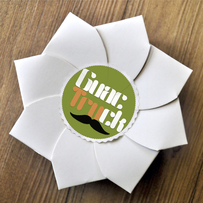 Sustainable origami food box on packaging of the world creative inspired by origami the packaging resembles a bud that blooms into a flower when opened it was created with sustainability in mind being only one piece mightylinksfo Choice Image